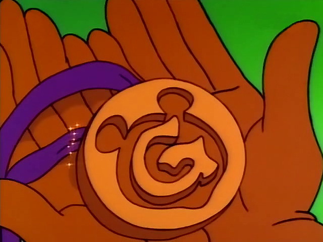 Gummi Bear Medallion