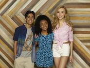 Emma, Ravi, and Zuri Season 1 Promotional Picture