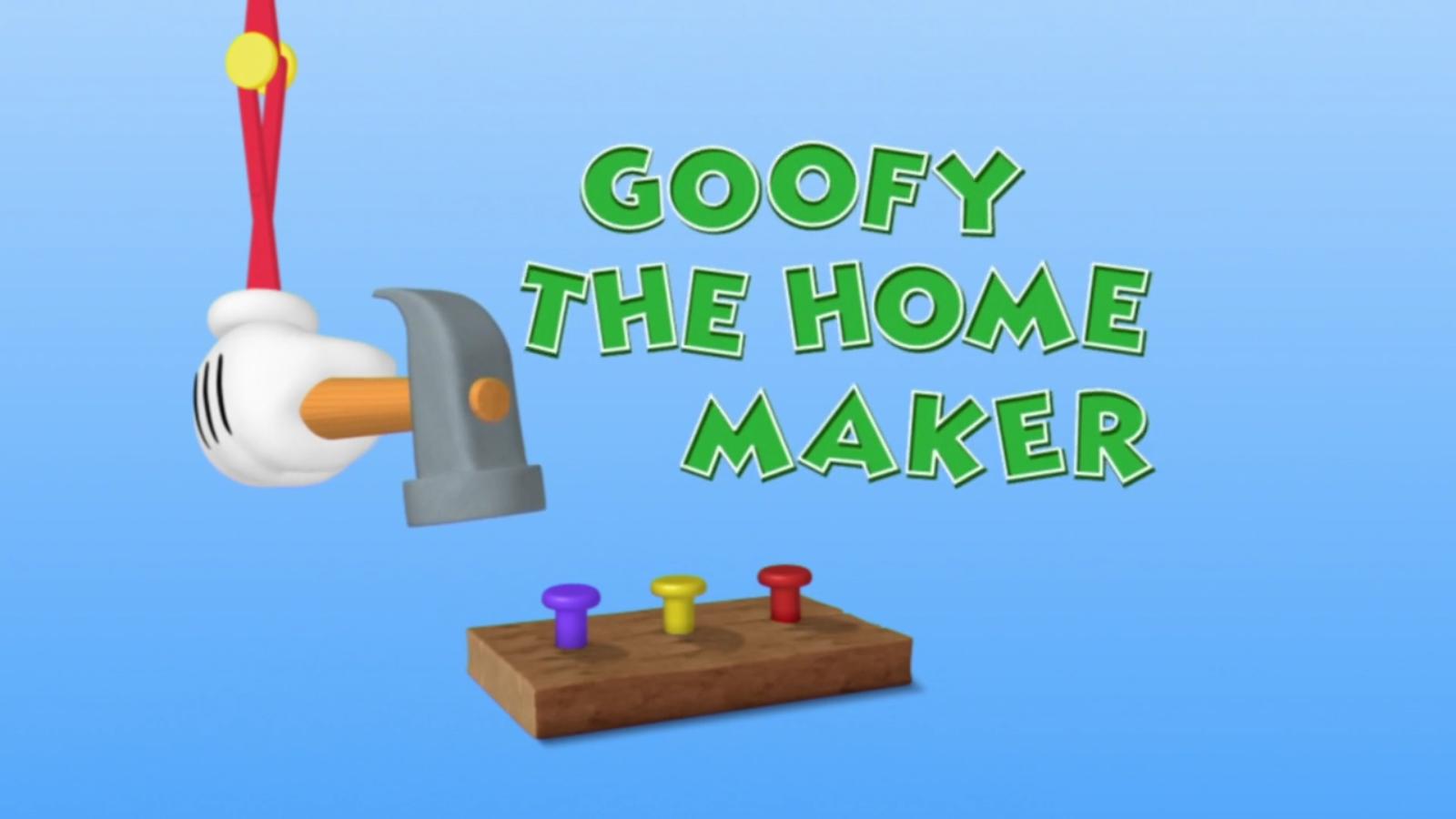Goofy the Homemaker