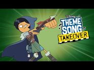 Marcy Theme Song Takeover - Amphibia - Disney Channel Animation-2