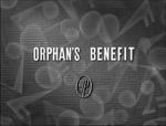 Orphans Benefit burlap