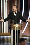 Ricky Gervais 77th Golden Globes