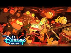 Season 3 Sneak Peek - Amphibia - Disney Channel Animation