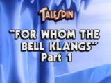 For Whom the Bell Klangs