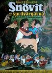 Snow white swedish poster 1970s