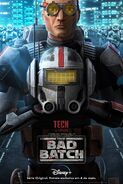 Star Wars - The Bad Batch - Pôster de Personagem - 03
