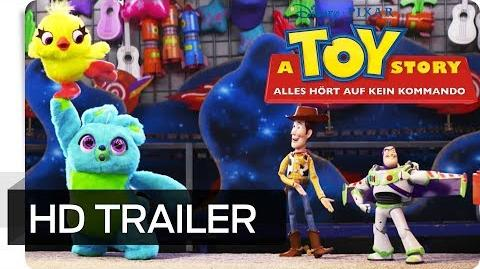 A TOY STORY ALLES HÖRT AUF KEIN KOMMANDO - Teaser Trailer (deutsch german) Disney•Pixar HD
