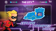 Disney Heroes- Battle Mode city