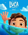 Luca character poster