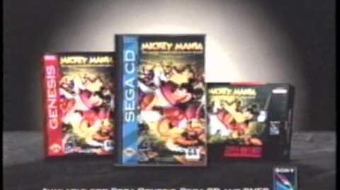 Mickey Mania Video Game (1994)