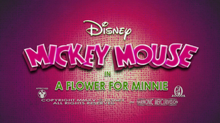 Mickey Mouse A Flower For Minnie Title card.png