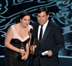 Robert & Kristen Lopez 84th Oscars