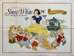Snow white uk poster 1987