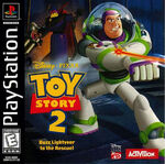 Toy Story 2 Buzz Lightyear to the Rescue! Versión PlayStation