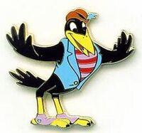 Dandy Crow pin7