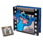 Stitch Crashes Disney Pin Holder with Pin