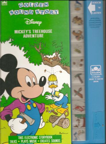 Mickey's Treehouse Adventure (Sound Story Book)