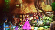 Concept art aurora's cottage
