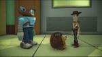 Disney pixar rush pricklepants and woody