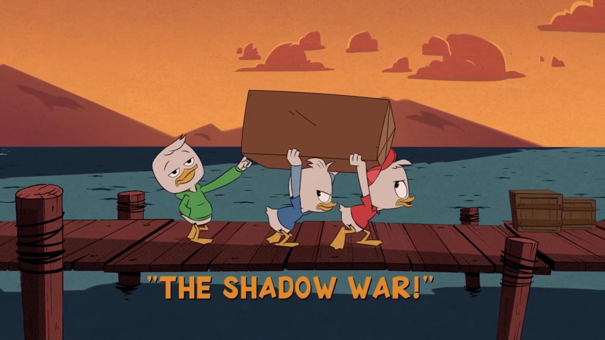 A Guerra das Sombras da Maga Patalógica!
