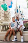 Martin Lawrence & daughter Amara Disney World