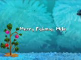 Merry Fishmas, Milo