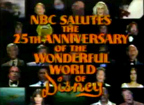 NBC Salutes the 25th Anniversary of the Wonderful World of Disney