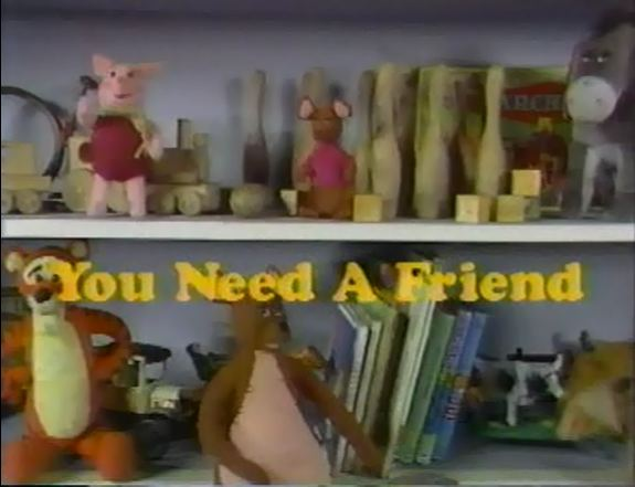You Need a Friend