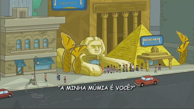 A Minha Múmia é Você?