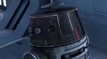 Chopper disguised as an Imperial Droid 2