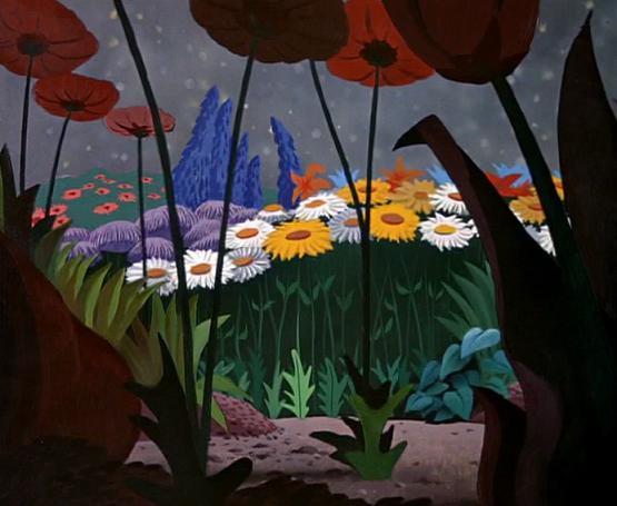 El Jardín de las Flores (Alice in Wonderland)