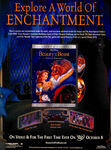 Beauty and the Beast Special Edition DVD print ad Nick Mag Oct 2002