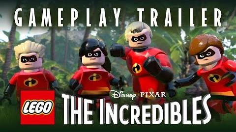 Official LEGO The Incredibles Parr Family Gameplay Trailer