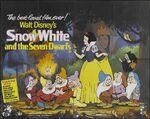 Snow white uk poster 1982