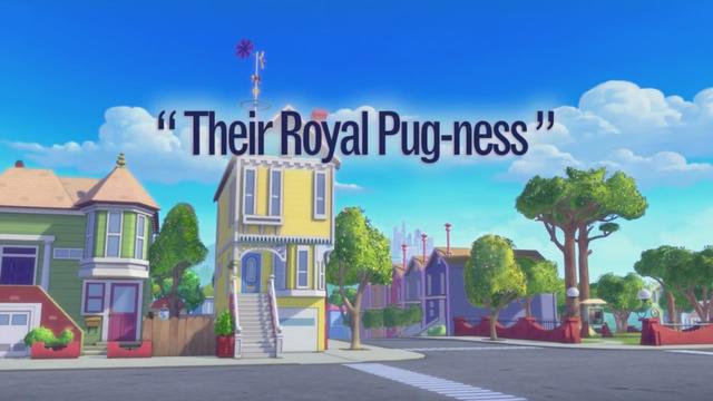 Their Royal Pug-ness