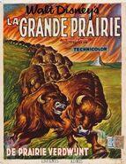 Vanishing prairie belgian poster