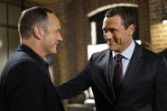 Agents of S.H.I.E.L.D. - 4x02 - Meet the New Boss - Photography - Coulson and Mace