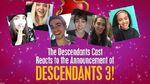 Cast Reactions! 🙌 😍 Descendants 3