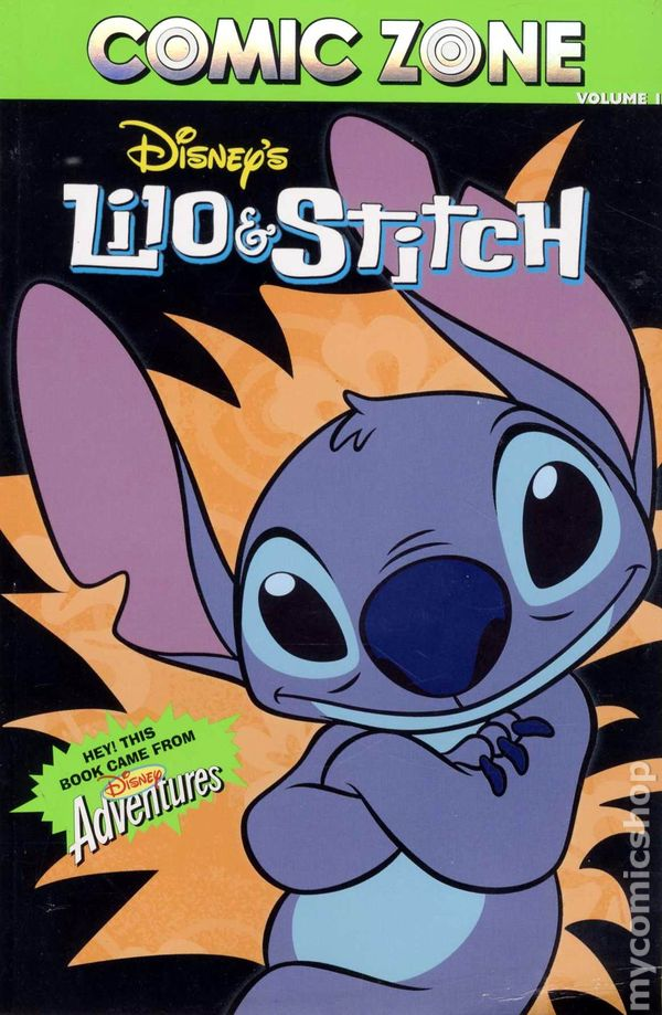 Comic Zone Volume 1: Disney's Lilo & Stitch