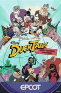 Ducktales World Showcase Adventure Poster