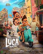 Luca spanish poster 03