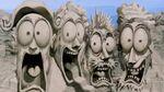 Mount Rushmore animated