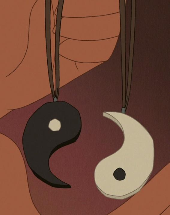 Mulan and Shang's Necklaces