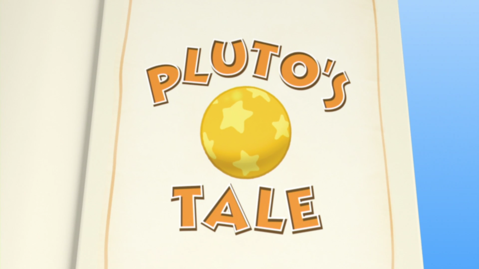 Pluto's Tale