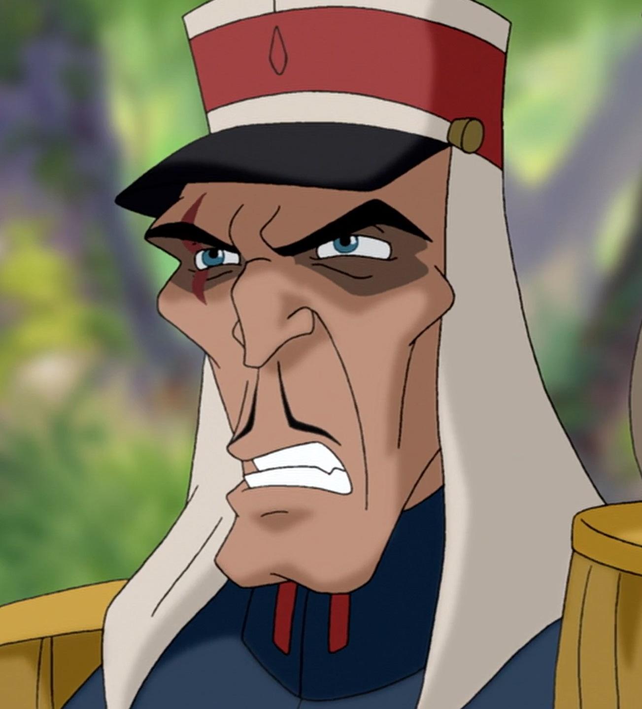 Lieutenant Colonel Staquait