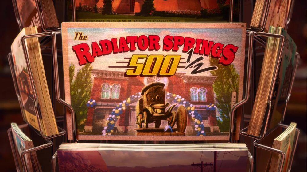 As 500½ de Radiator Springs