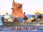 Bad Polly singing Old Bad Polly in Muppet Treasure Island Sing-Alongs