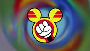 Batman Mickey Mouse circle