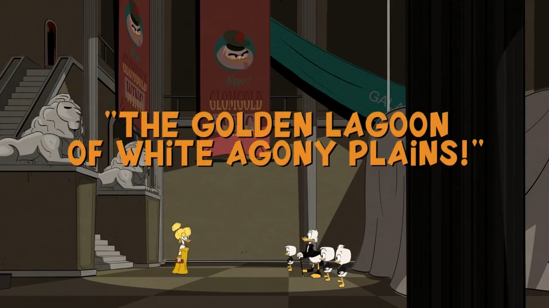 A Lagoa Dourada das Planícies Brancas da Agonia!