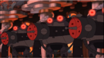 Frog-Bots ready to fire